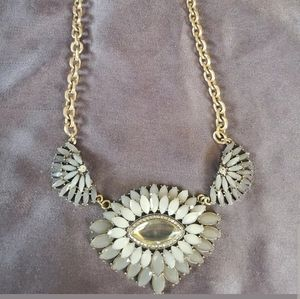 The Loft Women's Gray Statement Necklace